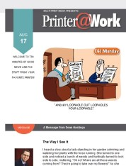 Printer@Work: Get More Bang For Your Buck